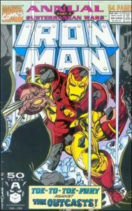 Marvel IRON MAN (1968 Series) Annual #12 VF