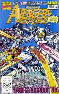 Marvel Comics Avengers West Coast Annual #5 NM