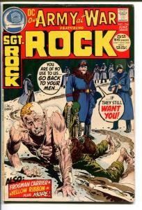 OUR ARMY AT WAR #246-SGT. ROCK-DC WAR VG