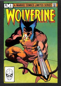 Wolverine (1982) #4 FN/VF 7.0 Limited Series