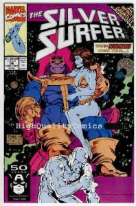 SILVER SURFER #56, VF/NM, Thanos, Ron Lim, Exodus,V 3,  more SS in our store