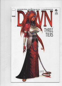 DAWN THREE TIERS #4, NM, Joseph Linsner, Femme Fatale, CFD, more JML in store