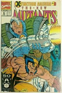 NEW MUTANTS#97 FN/VF 1991 MARVEL COMICS