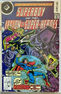 Superboy and the legion of super-heroes whitman #245 2.5 GD+ (1978)