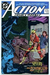 Action Comics Weekly 637 Jan 1989 NM- (9.2)