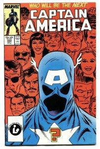 Captain America #333 1987-1st JOHN WALKER comic book NM-