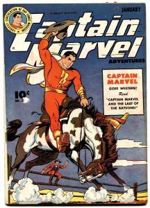 CAPTAIN MARVEL ADVENTURES #51-FAWCETT-RARE FN