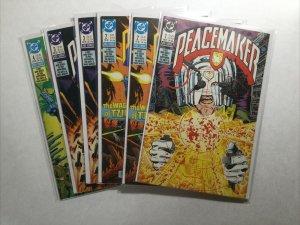 Peacemaker 1-4 1 2 3 4 Lot Run Set Near Mint Nm Dc Comics