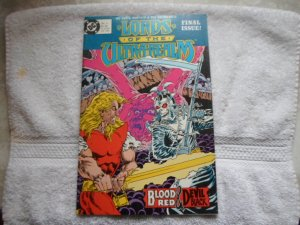 1986 DC COMICS LORDS OF THE - REALM # 6