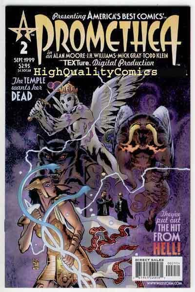PROMETHEA #2, NM+, Alan Moore, 1999, Williams, Gray