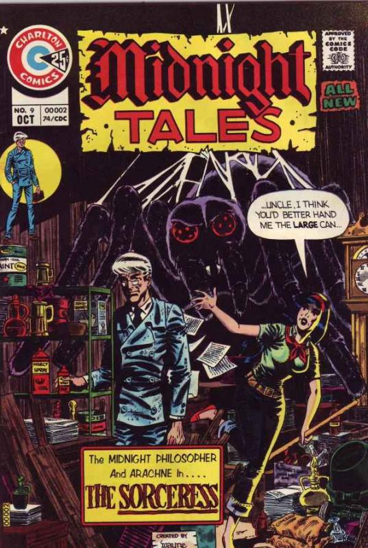 Midnight Tales #9 (Oct-74) VF/NM High-Grade
