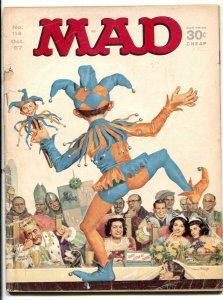 Mad-Magazine-#114 1967-LBJ Court Jester cover G/VG