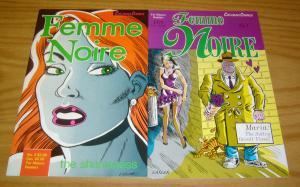 Femme Noire #1-2 VF complete series - steve lafler - dog boy - cat-head comics