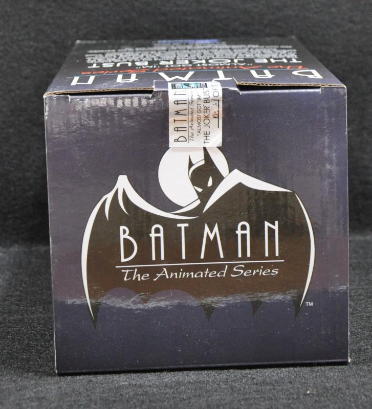 Batman Animated Series Almost Got 'Im Joker Bust Ltd 1100