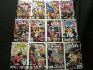 JSA ALL STARS (2010) 1-18  the COMPLETE series! COMICS BOOK