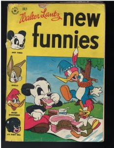 New Funnies #113 (Dell, 1946)
