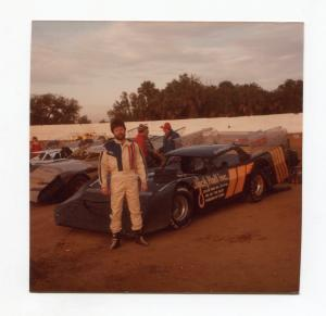 Jim McBee-Color Photo-East Bay Speedway-#11-1983-VG