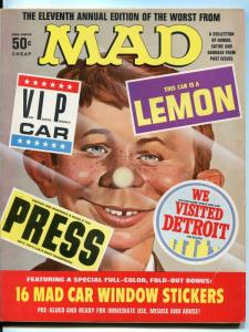 Eleventh Annual Edition Of The Worst From Mad-Magazine-#11-1972-16 Car Stickers