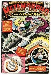 METAMORPHO #2 comic book 1965-DC-MISSLE COVER VG+