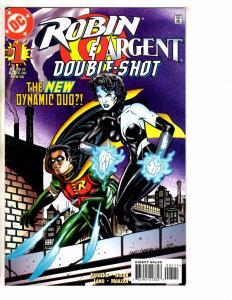 5 DC Comics Robin Superboy Supergirl Impulse # 1 (4) Double Shot + Nemesis J258