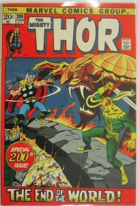 The Mighty Thor #200 - 4.5 VG+ - 1972