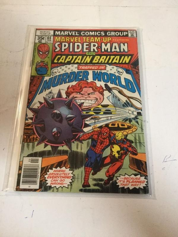 Marvel Team-up 66 First Appearance Of Arcade Vf Very Fine 8.0