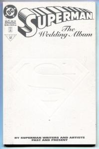 SUPERMAN THE WEDDING ALBUM #1 1996-comic book-High Grade-1996
