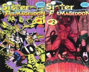 SISTER ARMAGEDDON (1996 CATACOMB) v.2 1-2