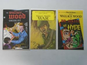Wally Wood comic lot 3 different