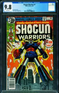 Shogun Warriors #1 CGC 9.8 1978 comic book 1st issue 2014886011