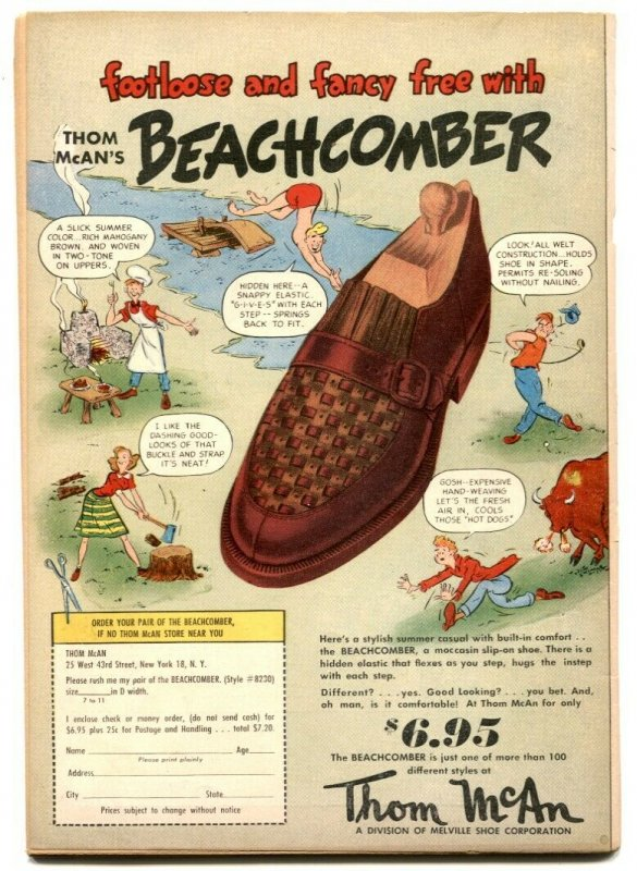 Jimmy Wakely #6 1950-Frazetta art- DC Western VG