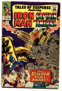 TALES OF SUSPENSE #72 comic book 1965-IRON MAN/CAPTAIN AMERICA-MARVEL- VG