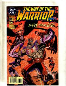 10 Comics The Way of the Warrior #32 33 34, Judge Dredd #4 5 6 7 8 12 13 J344