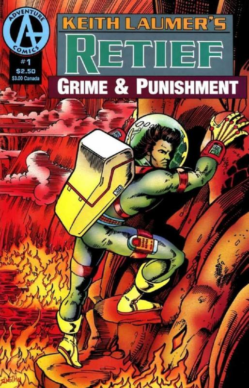 RETIEF Grime and Punishment #1, VF/NM, Adventure, Keith Laumer, 1991