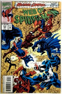WEB of SPIDER-MAN #102  103   NM  Comics MAXIMUM CARNAGE SPIDER-MAN VENOM MARVEL