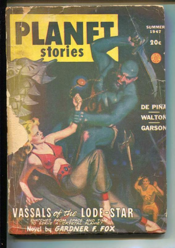 Planet Stories-Pulp-Spring/1946-Ray Bradbury-Emmert McDowell
