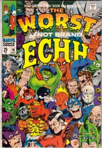 Not Brand Echh #10 (Oct-68) VG/FN+ Mid-High-Grade Marvel Heroes