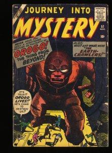 Journey Into Mystery #57 GD+ 2.5