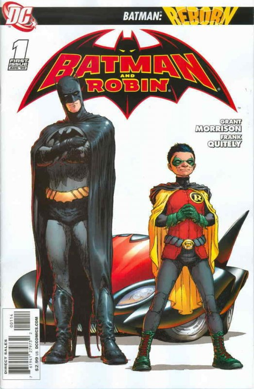 Batman and Robin #1 (4th) VF/NM; DC   save on shipping - details inside