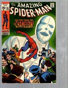 Amazing Spider-Man # 80 VF- Marvel Comic Book MJ Vulture Goblin Scorpion TJ1