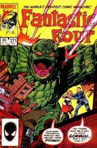 Fantastic Four (1961 series) #271, VF+ (Stock photo)