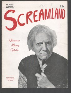 Screamland 3/1948-Wampus -college humor magazine-edited by Art Buchwald-wac...