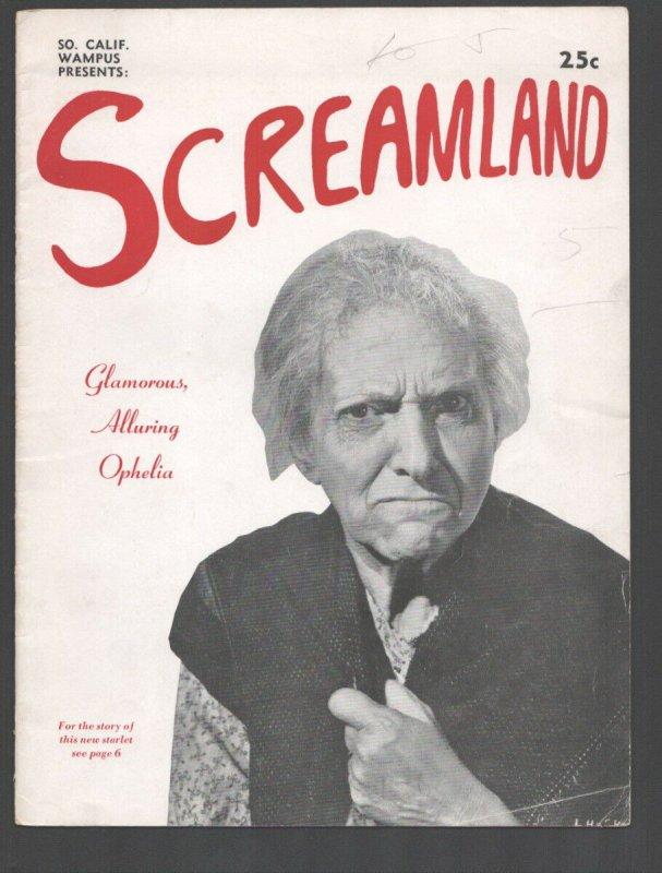Screamland 3/1948-Wampus -college humor magazine-edited by Art Buchwald-wac...