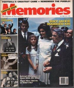 Memories #2 Fall 1988-Orson Welles-Jackie Kennedy-Beatles-$64, 000 Question-FN