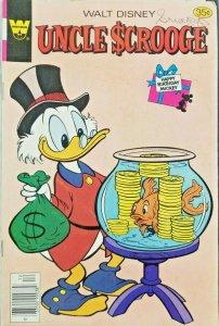 Whitman Walt Disney Uncle Scrooge #159 Bronze Age 1977 Comic 35 Cent Cover VF-