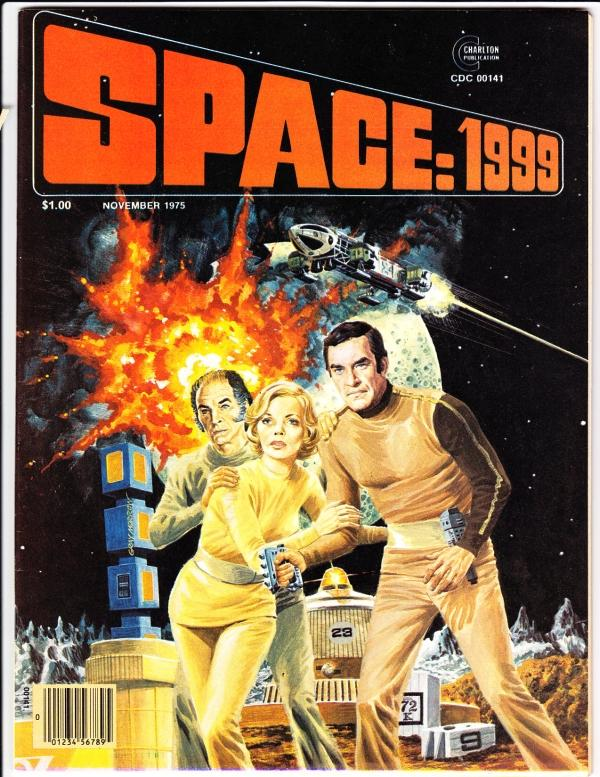 Space: 1999 #1 (Nov-75) NM/NM- High-Grade Dr. Helena Russll, Professor Victor...