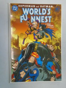 Superman and Batman World's Funnest #1 Elseworlds 9.4 NM (2000)