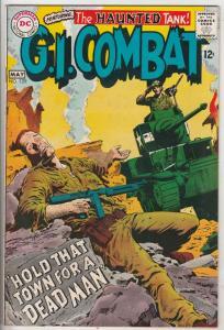 G.I. Combat #129 (May-68) VG+ Affordable-Grade The Haunted Tank
