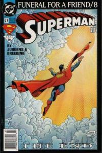 Superman (1987 series) #77, NM- (Stock photo)