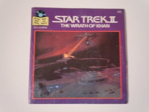 Star Trek II The Wrath of Khan Read Along Book And Record(1985)